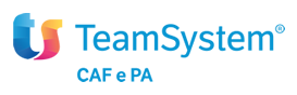 Logo TeamSystem SpA.
